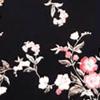 Rose Multi Print in Black Ground