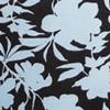 White Mono Floral Print