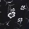 Black/White Floral Print