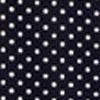 White Dots in Navy Ground