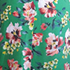 Floral Print in Green Ground